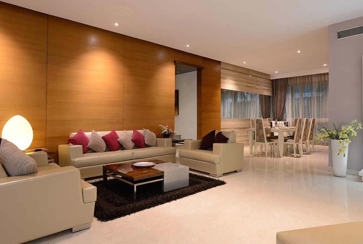 Kumar Sienna living room